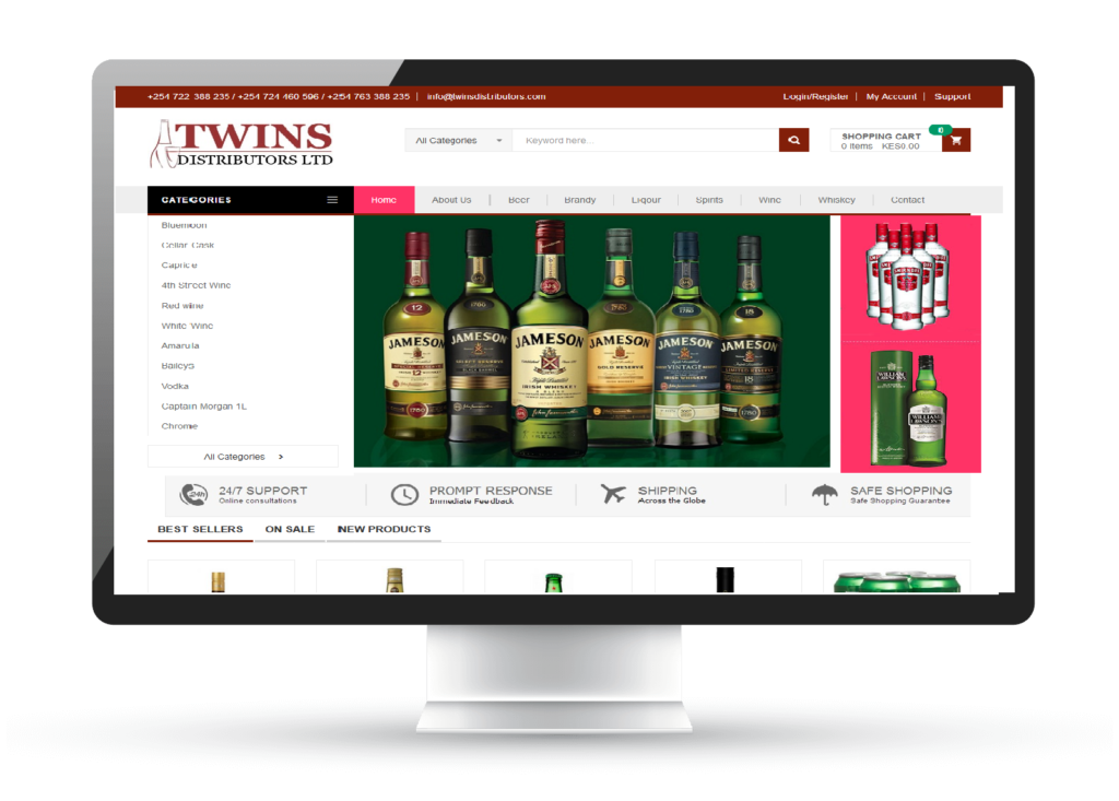 twins distributors