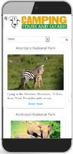 camping tours and safaris